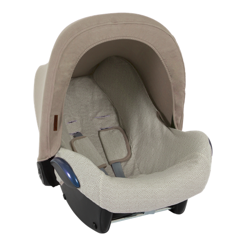 Picture of Car seat 0+ sun canopy Beige