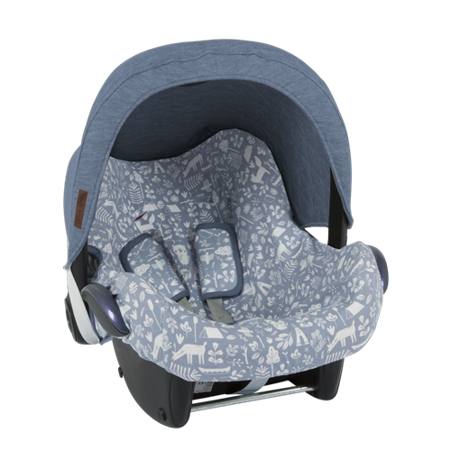 Picture of Car seat 0+ sun canopy Blue