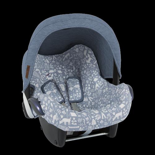 Afbeelding van Zonnekap autostoeltje 0+ Blue