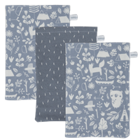 Picture of Washcloths set Adventure Blue