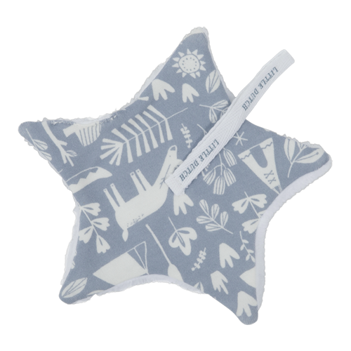Picture of Pacifier cloth Adventure Blue