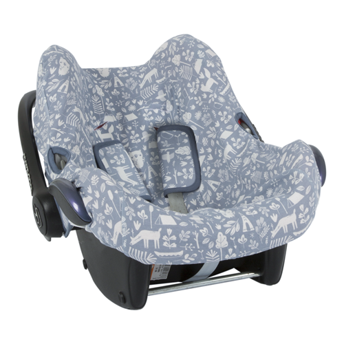Picture of Car seat 0+ cover Adventure Blue