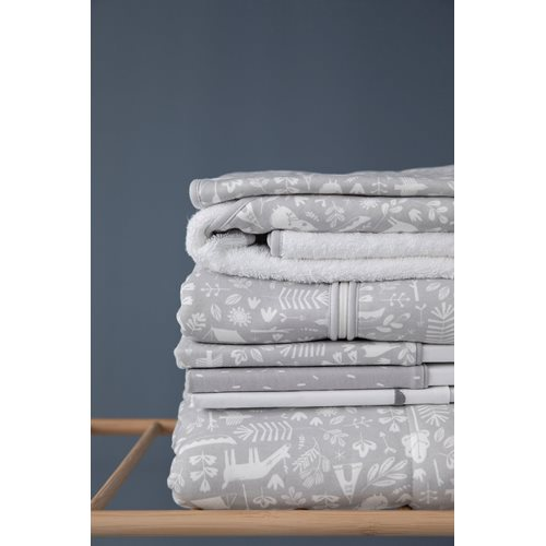 Picture of Bassinet blanket Pure & soft Adventure Grey