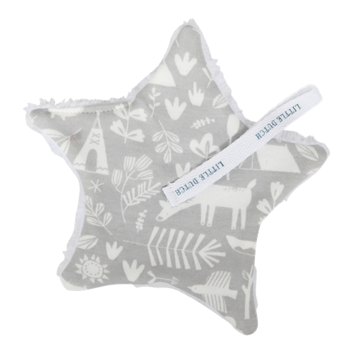 Picture of Pacifier cloth Adventure Grey