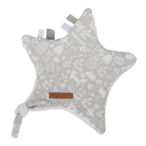 Picture of Cuddle cloth, star Adventure Grey