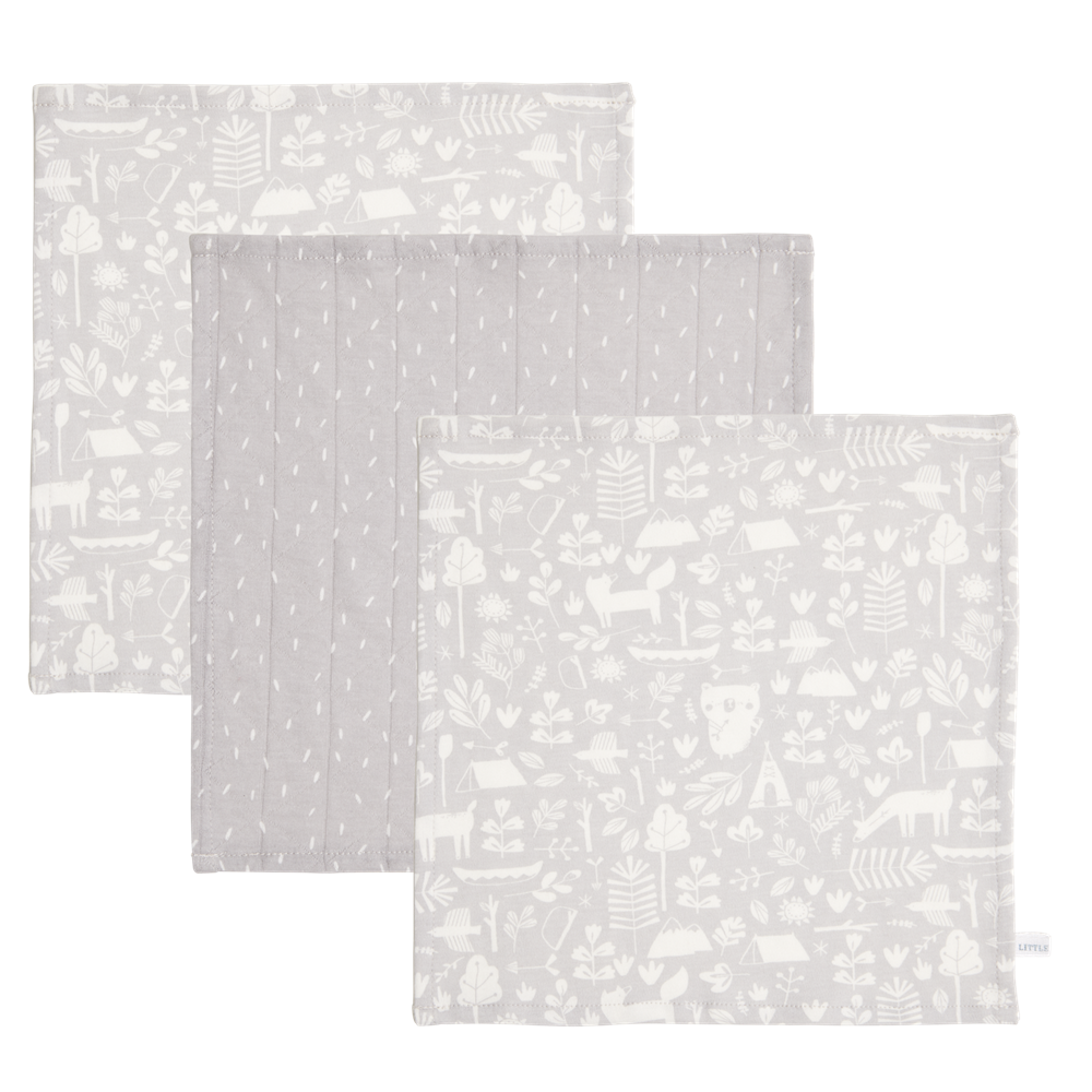 Picture of Facecloths Adventure Grey