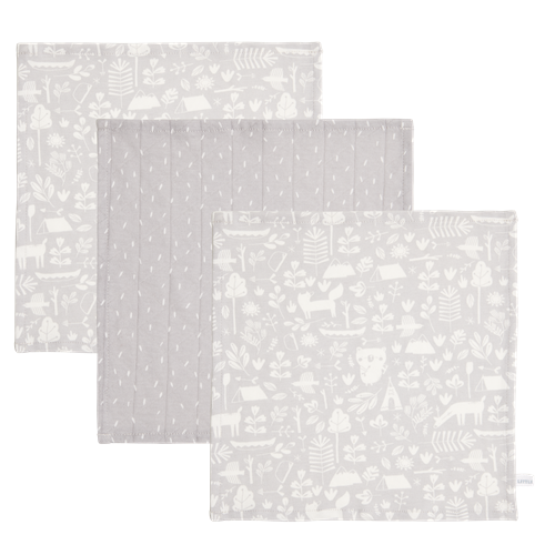 Picture of Facecloths Adventure Grey (set of 3 pcs.)
