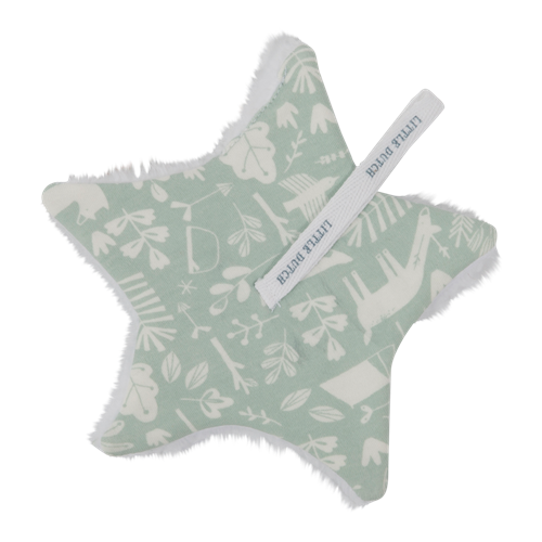 Doudou attache-sucette Adventure Mint