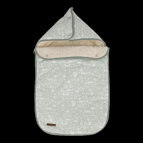 Babyschalen-Fußsack 0+ Adventure Mint