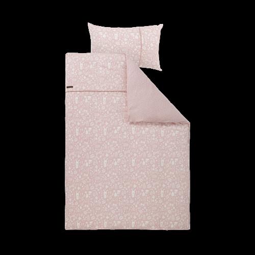 Afbeelding van Eenpersoonsdekbedovertrek Adventure Pink