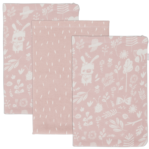 Picture of Washcloths Adventure Pink (set of 3 pcs.)