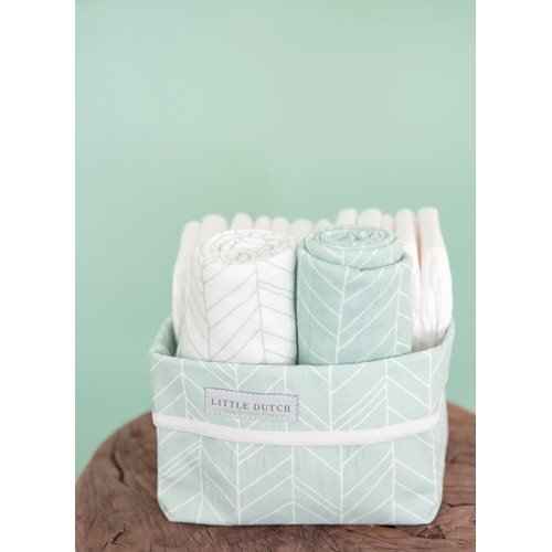Picture of Swaddles 70 x 70 Mint Leaves