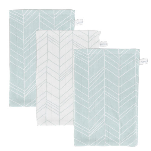 Picture of Washcloths Mint Leaves (set of 3 pcs.)