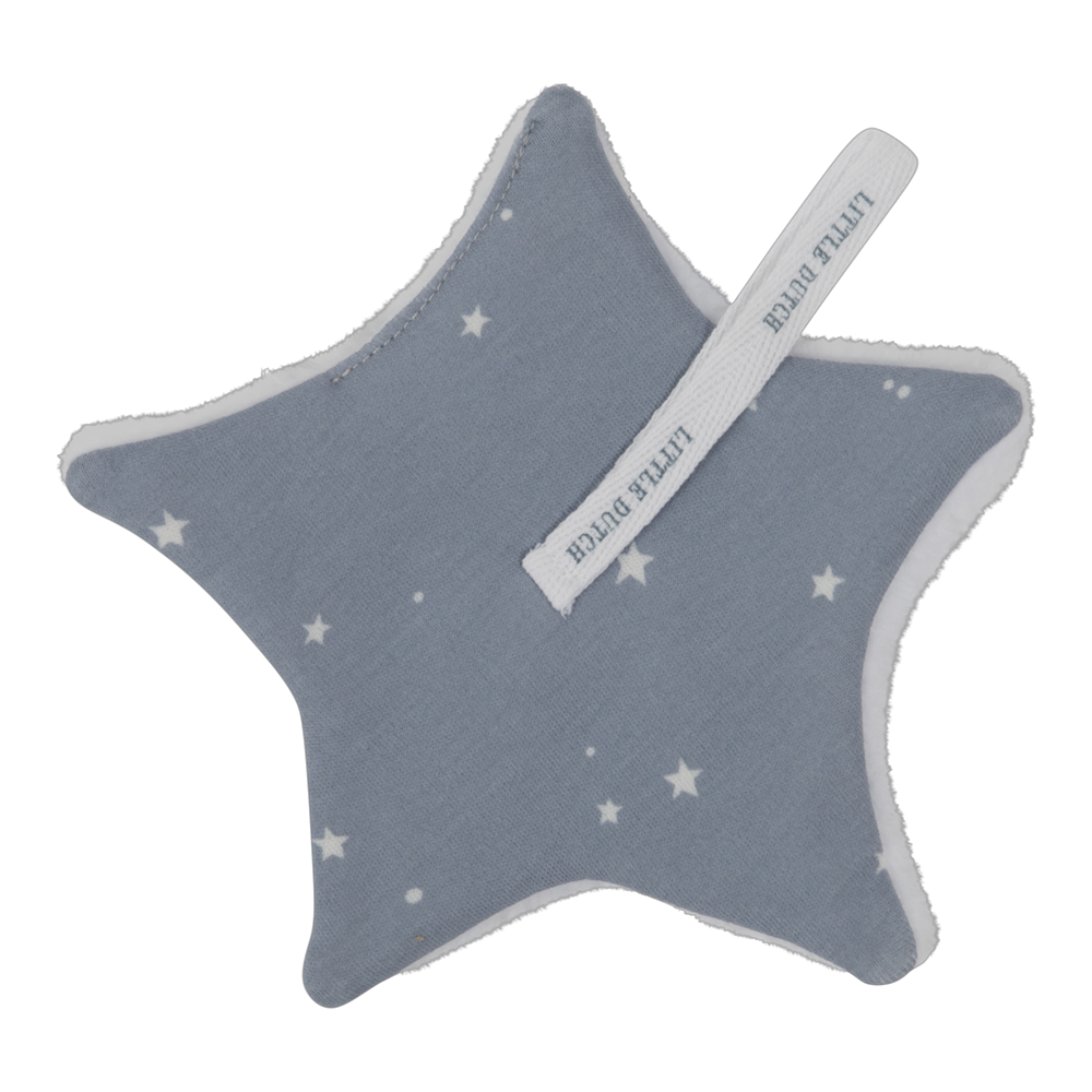 Picture of Pacifier cloth Little Stars Blue