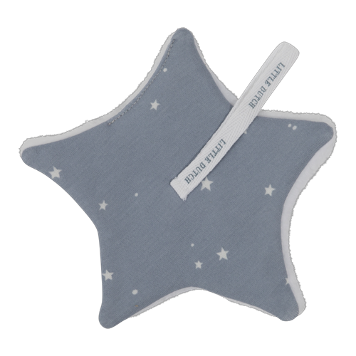 Schnullertuch Little Stars Blue