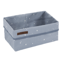 Picture of Storage basket, large Little Stars Blue
