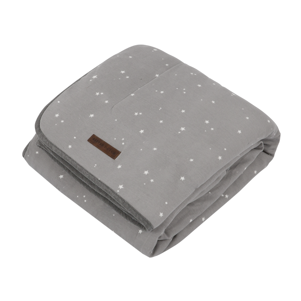 Picture of Bassinet blanket Little Stars Grey