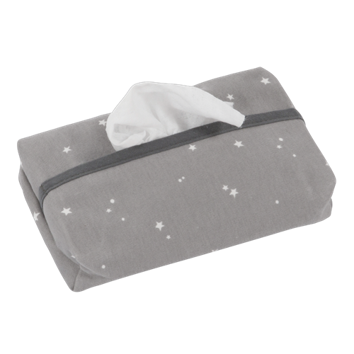 Picture of Baby wipes cover Little Stars Grey