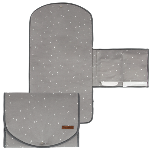 Picture of Changing pad comfort Little Stars Grey