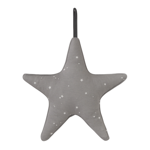 Picture of Star-shaped music box Little Stars Grey