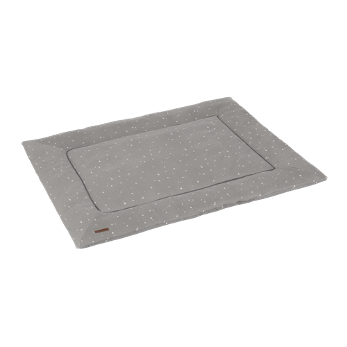 Picture of Playpen mat 80 x 100 Little Stars Grey