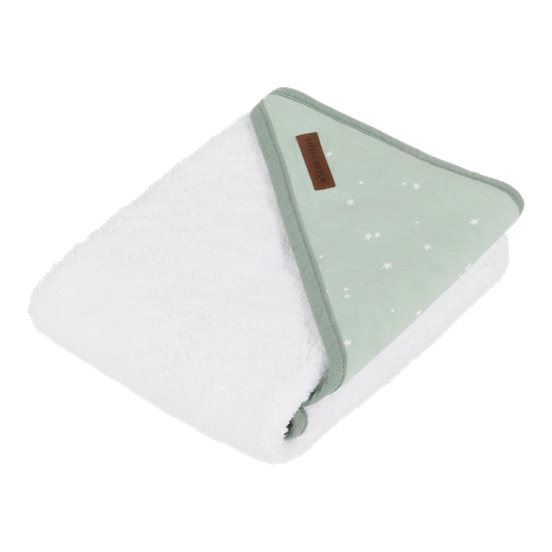 Picture of Hooded towel Little Stars Mint