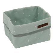 Picture of Storage basket, small Little Stars Mint