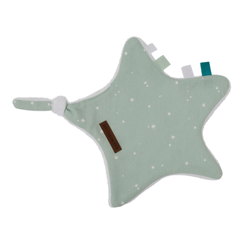 Picture of Cuddle cloth, star Little Stars Mint