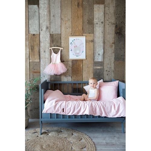 Picture of Single duvet cover DE Little Stars Pink