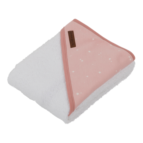Picture of Hooded towel Little Stars Pink