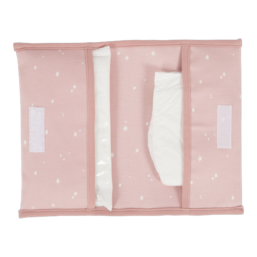 Picture of Nappy pouch Little Stars Pink