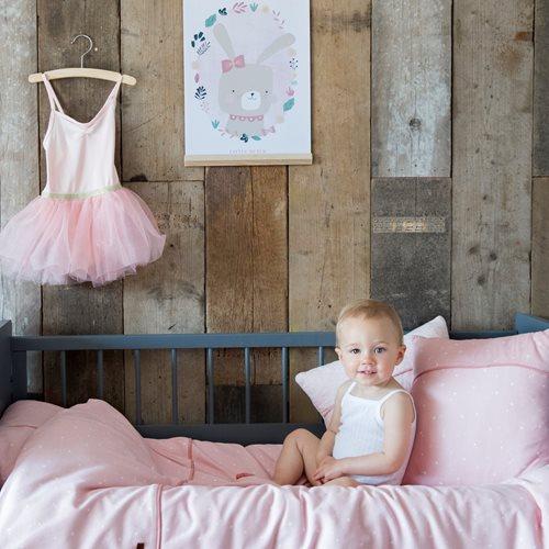 Afbeelding van Kussentje Little Stars Pink