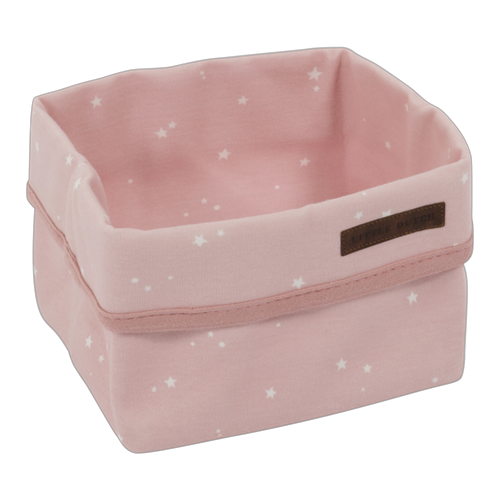 Picture of Storage basket, small Little Stars Pink