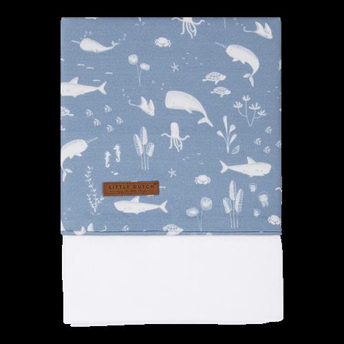 Kinderbettlaken Ocean Blue