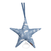 Picture of Star-shaped music box Ocean Blue