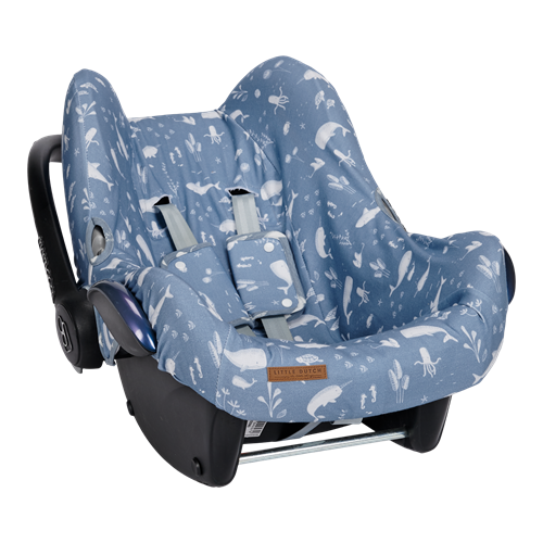 Picture of Car seat 0+ cover Ocean Blue