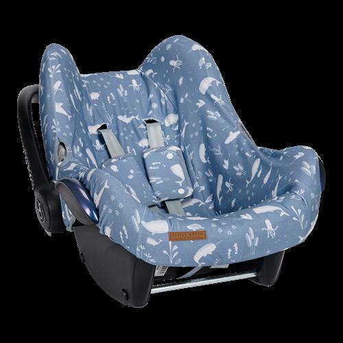 Housse de protection pour siège-auto 0+ Ocean Blue