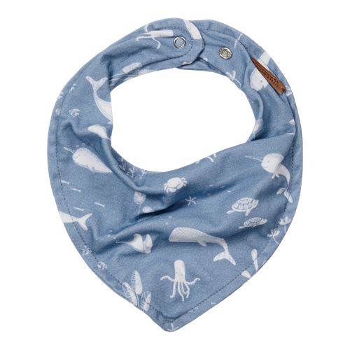 Picture of Bandana bib Ocean Blue