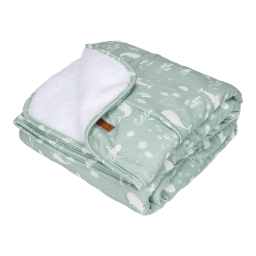Picture of Bassinet blanket Pure & soft Ocean Mint