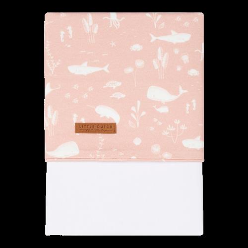 Kinderbettlaken Ocean Pink