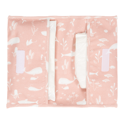 Picture of Nappy pouch Ocean Pink