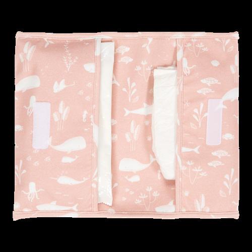Windeltasche Ocean Pink