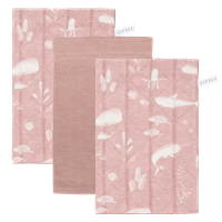Picture of Washcloths set Ocean Pink