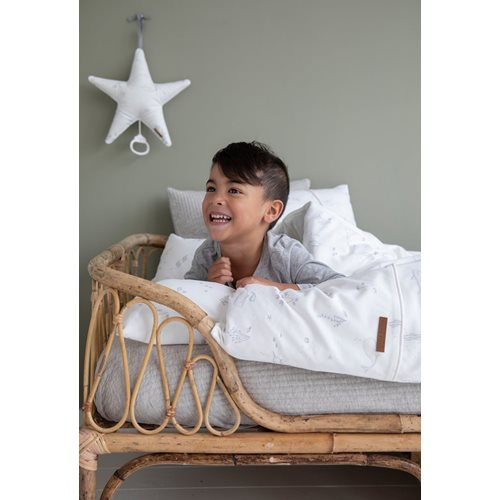 Picture of Cot blanket cover Ocean White