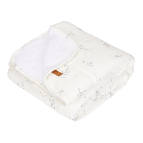 Picture of Cot blanket Ocean White