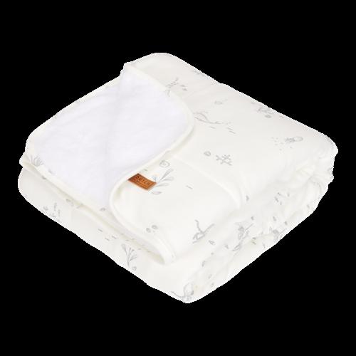 Couverture de lit bébé Ocean White