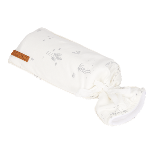 Picture of Hot-water bottle cover Ocean White