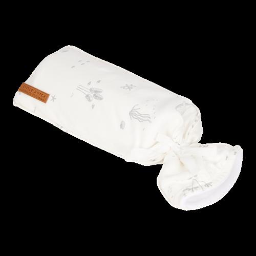 Wärmflaschenbezug Ocean White