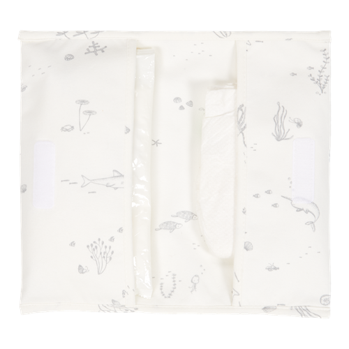 Picture of Nappy pouch Ocean White