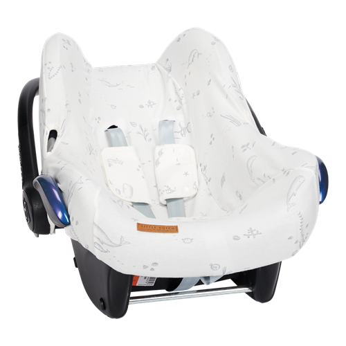 Picture of Car seat 0+ cover Ocean White